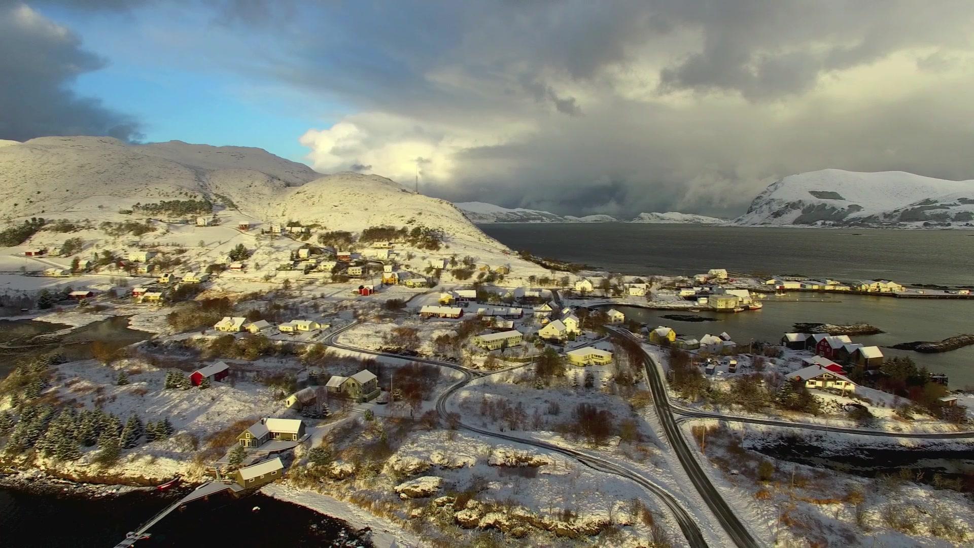 Sandshamn på Sandsøya