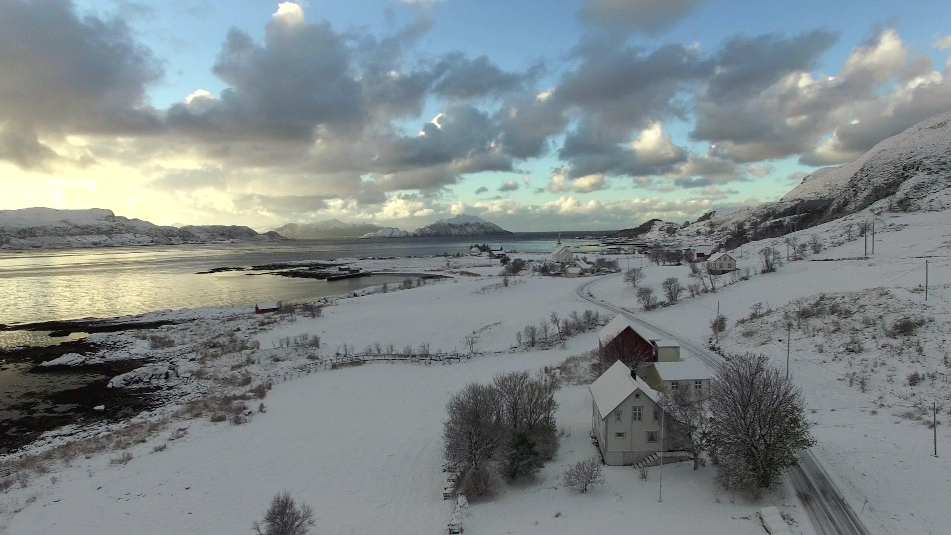 Sandsøya sett frå Støyle