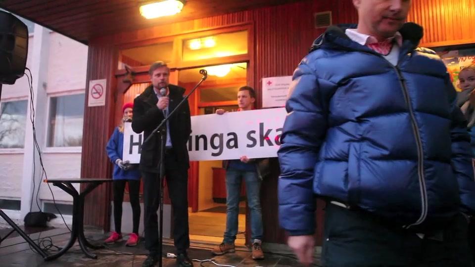 Helse- og omsorgminister Bent Høie i Volda
